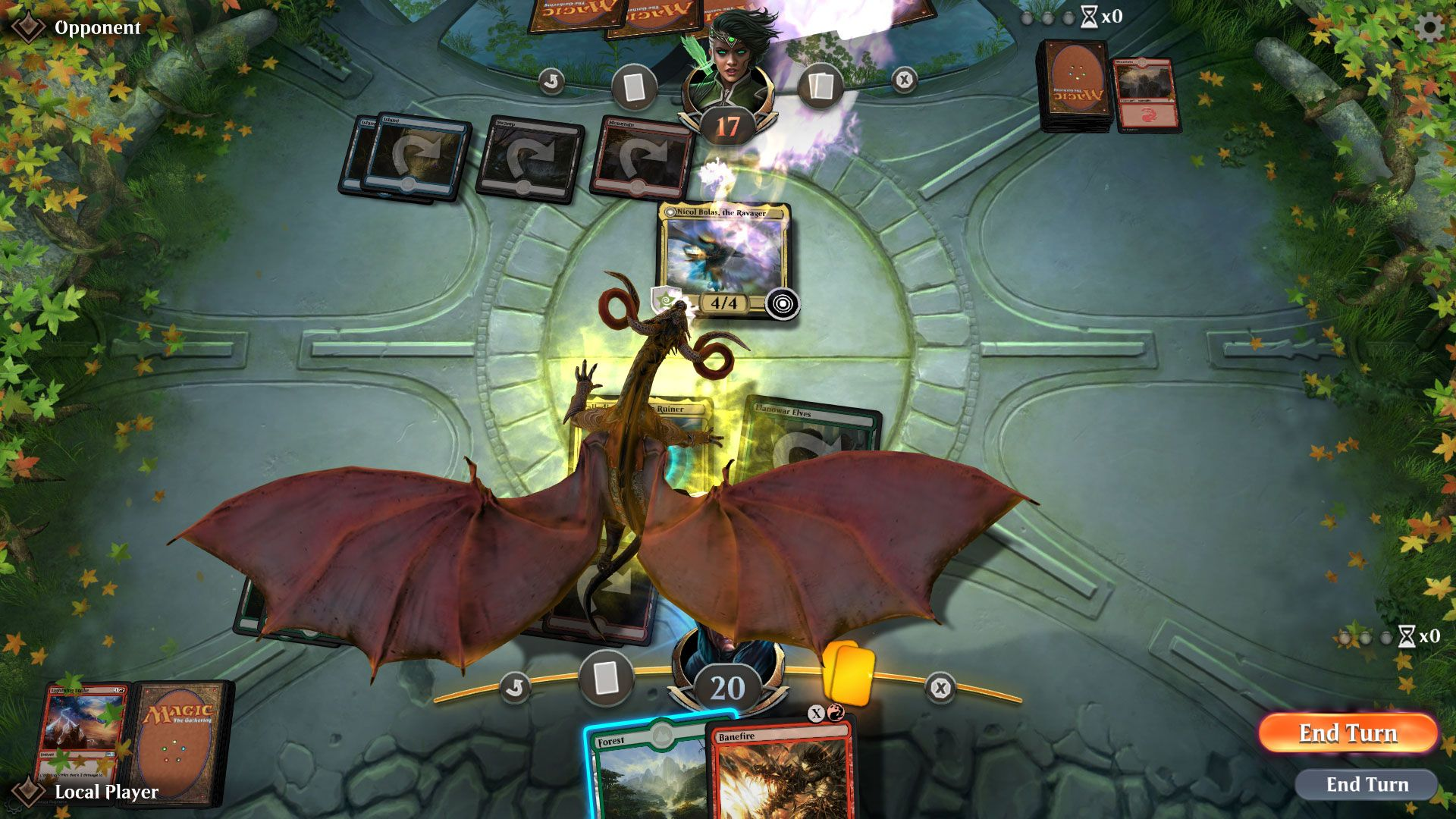 Mtg Arena Hands On Impressions Easy Interface Makes Playing Simple