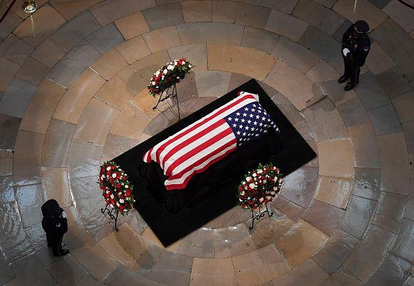John McCain, Barack Obama, eulogy, memorial service
