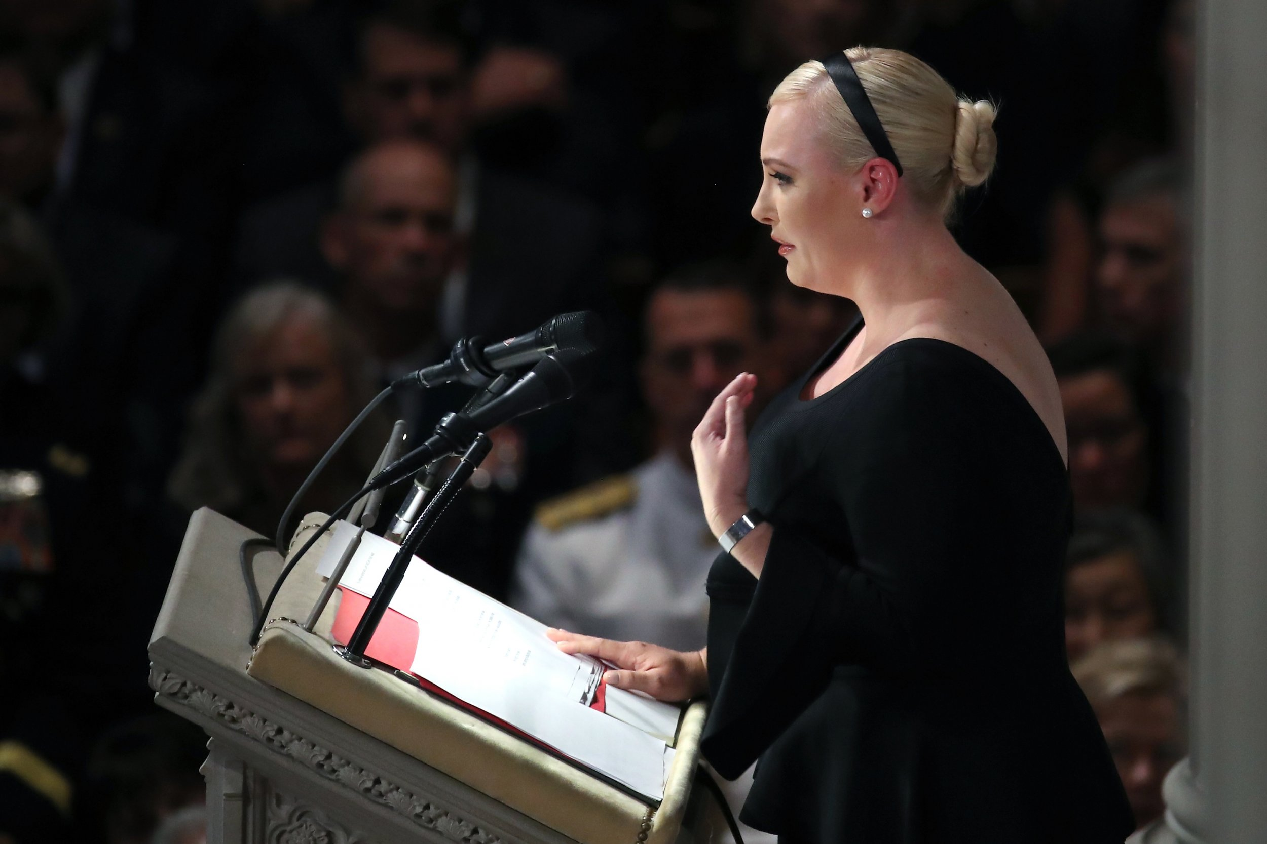 Meghan McCain funeral