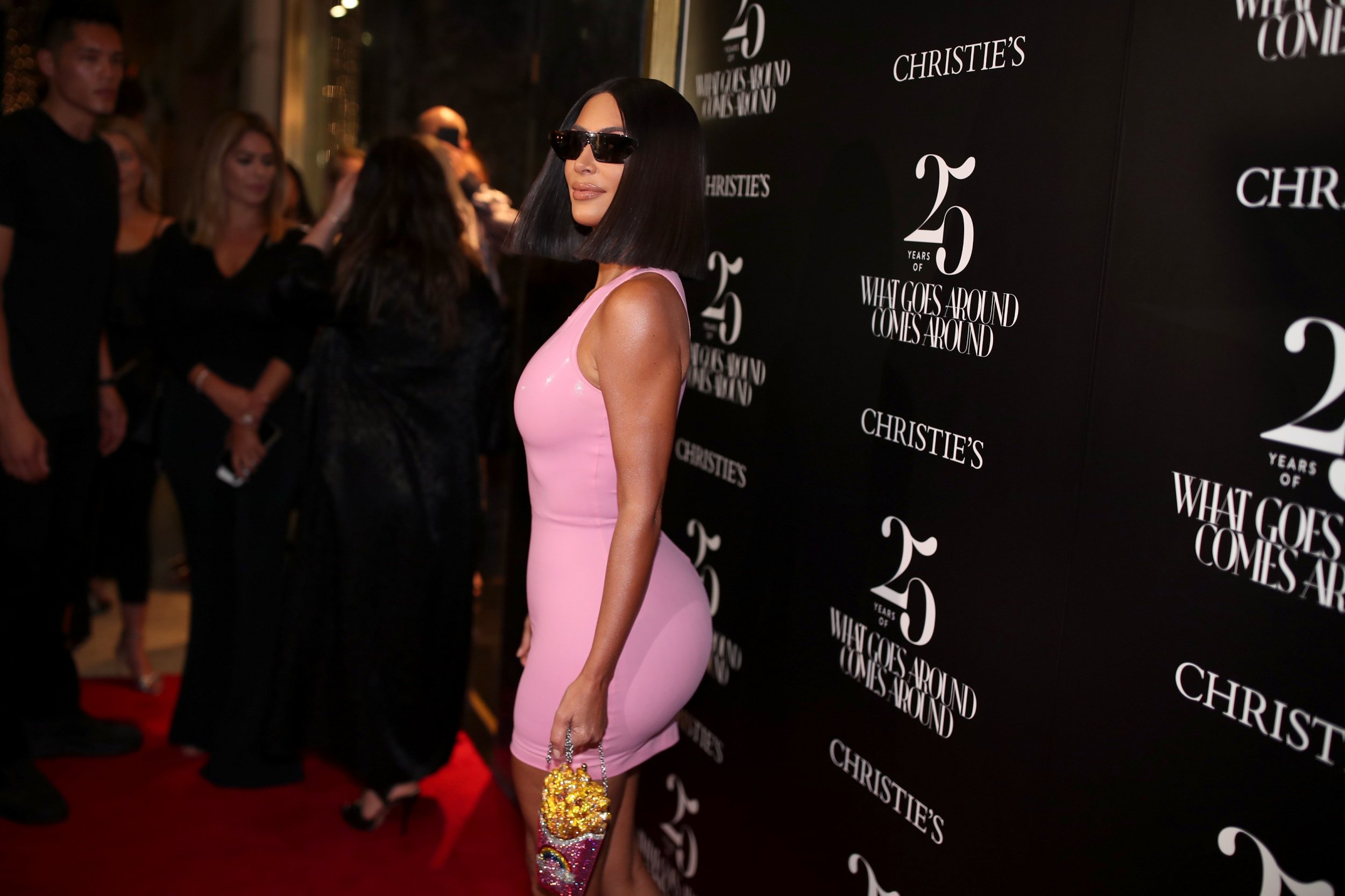 Viral Twitter Conspiracy Suggests Kim Kardashian Had an