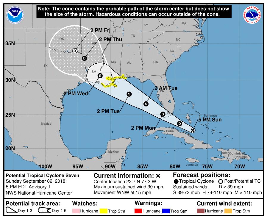 Resultado de imagen para Storm Tropical Gordon