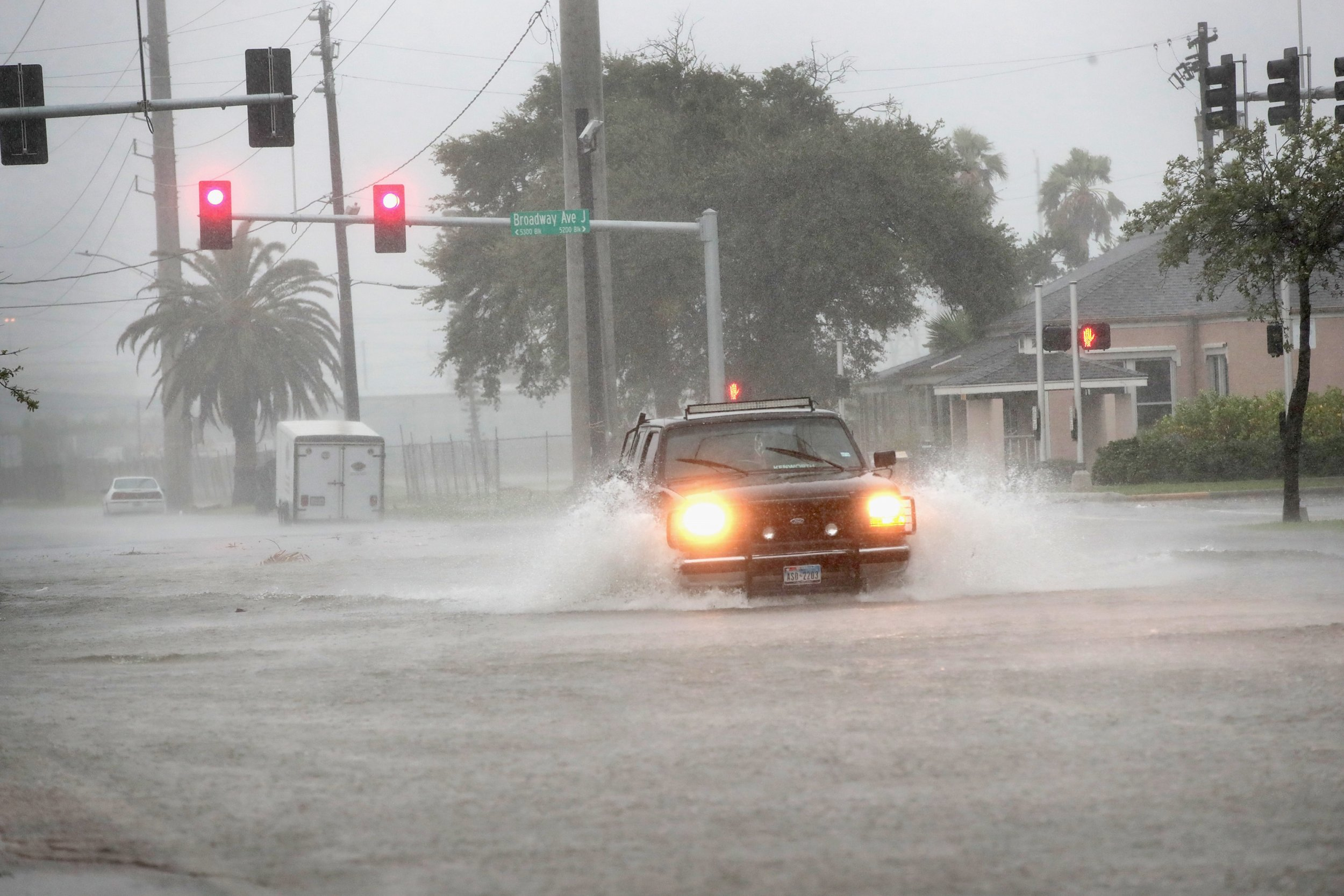 Galveston Flooding Strands Carnival Cruise Passengers