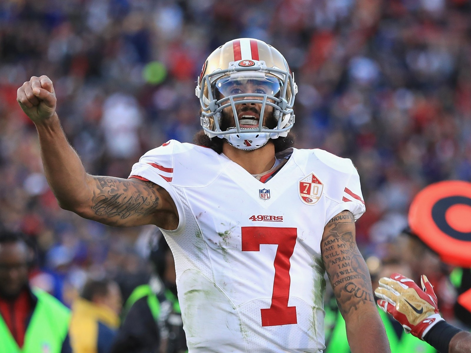 new concept bd683 8d576 Colin Kaepernick Net Worth: How Much Will Nike Deal Pay?