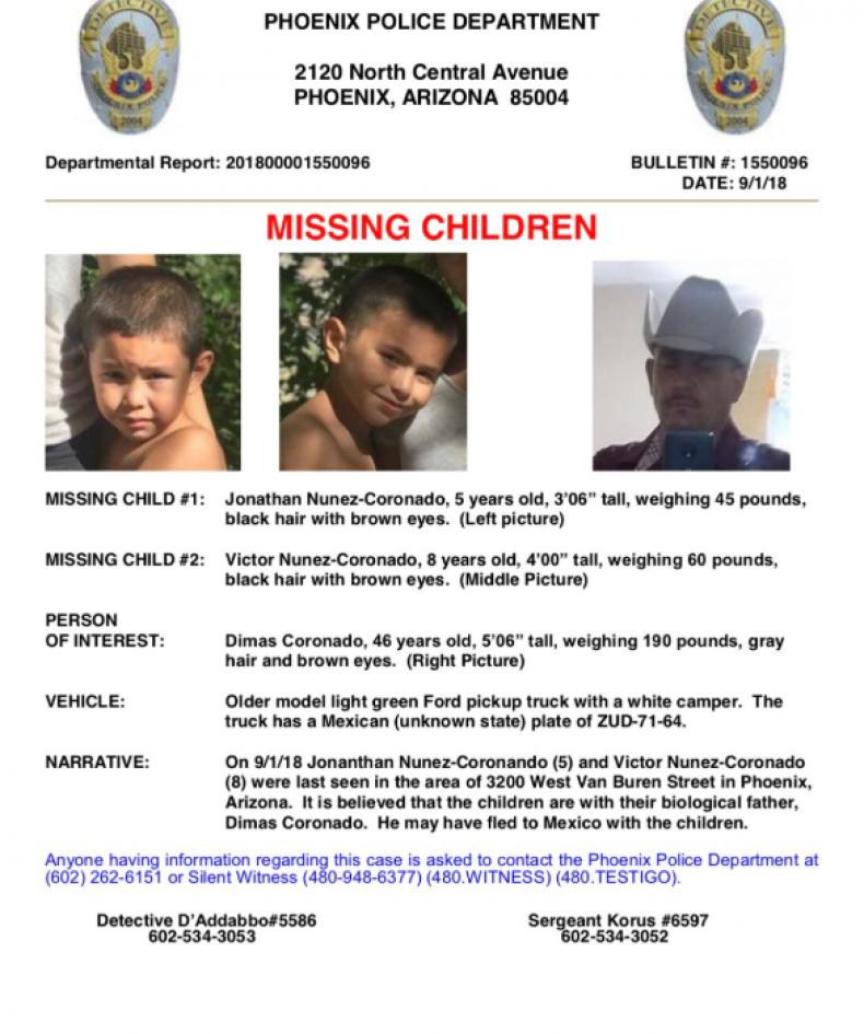 Arizona Amber Alert Full