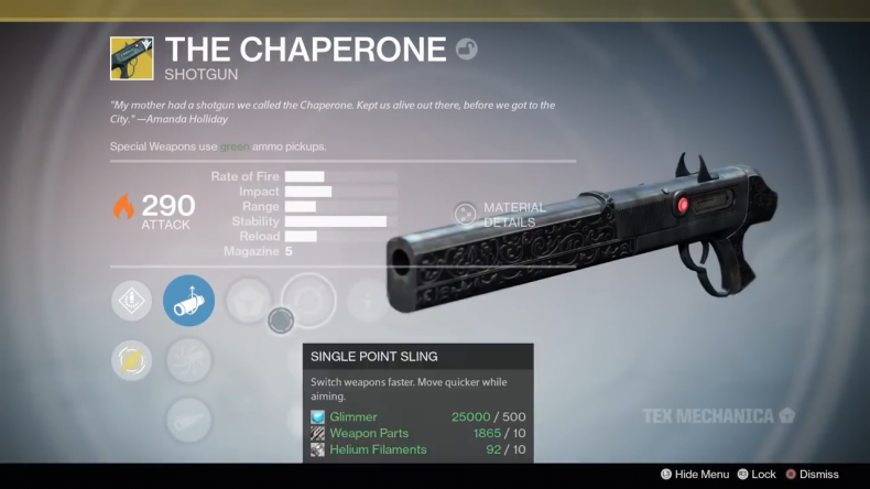 Destiny 2 Chaperone