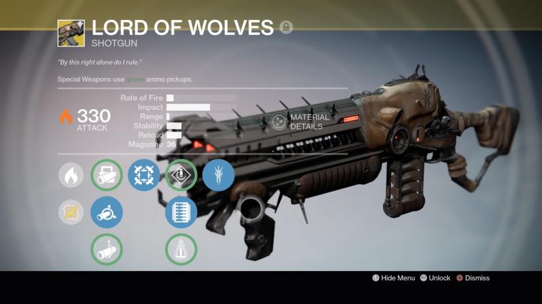Destiny Lord of Wolves