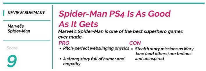 Spider-Man PlayerOne Score Card