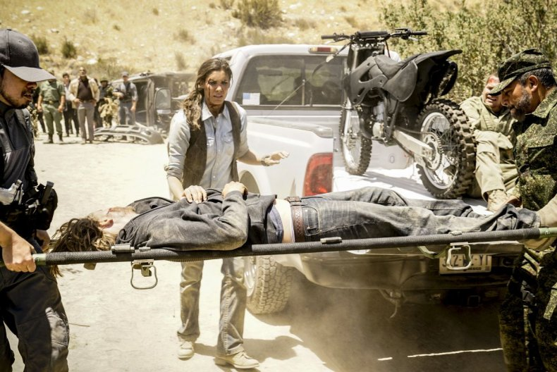 NCIS LA Season 10 Premiere Kensi Deeks stretcher