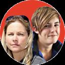 Alison Kock and Tamlyn Engelbrecht