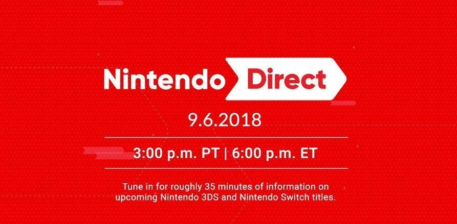 Nintendo Direct Sept 6