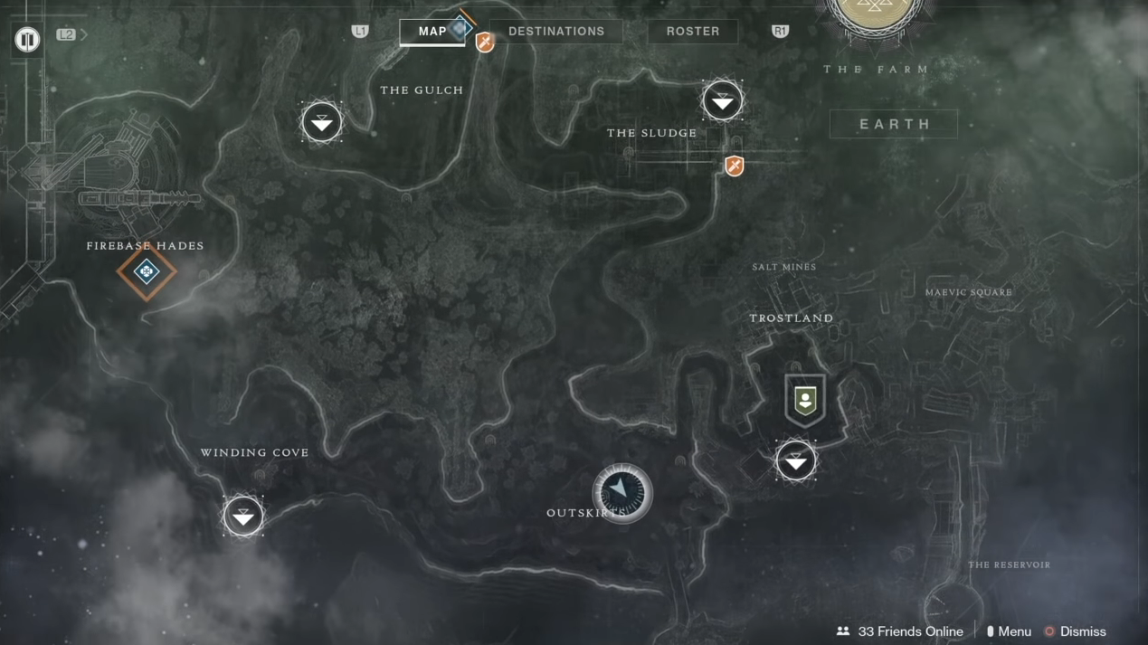 Destiny 2 All Spider Bounty Locations Drain Excavation Site Xii
