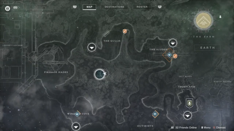 Destiny 2 Drowned Captain Lost sector map