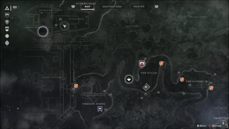Destiny 2 Devour darg map