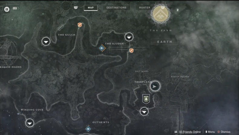 Destiny 2 Sunless Captain Bounty Location