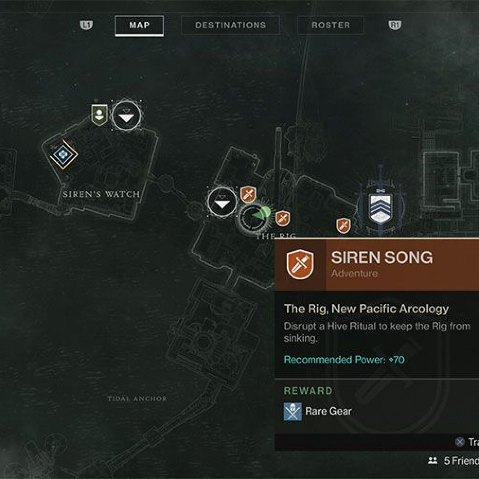 Destiny 2' All Spider Bounty Locations - Drain, Excavation Site XII
