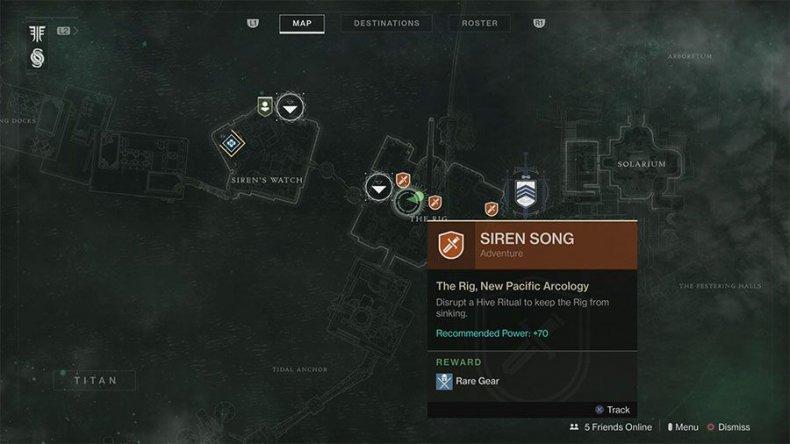 Destiny 2 Thaan-Hul Bounty location