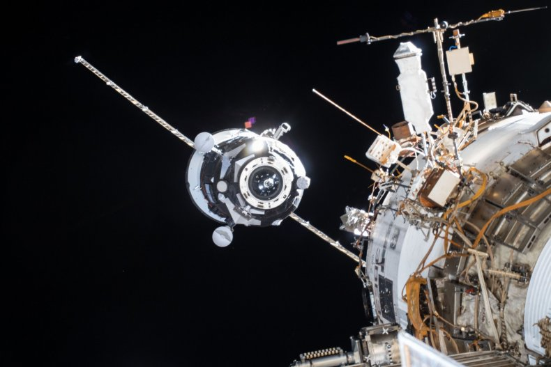 International Space Station Resupply Ship