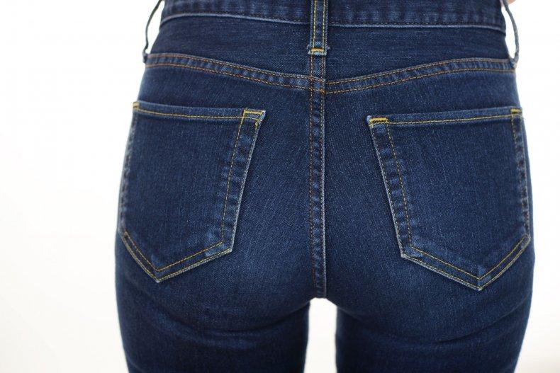 jeans-woman-butt-stock