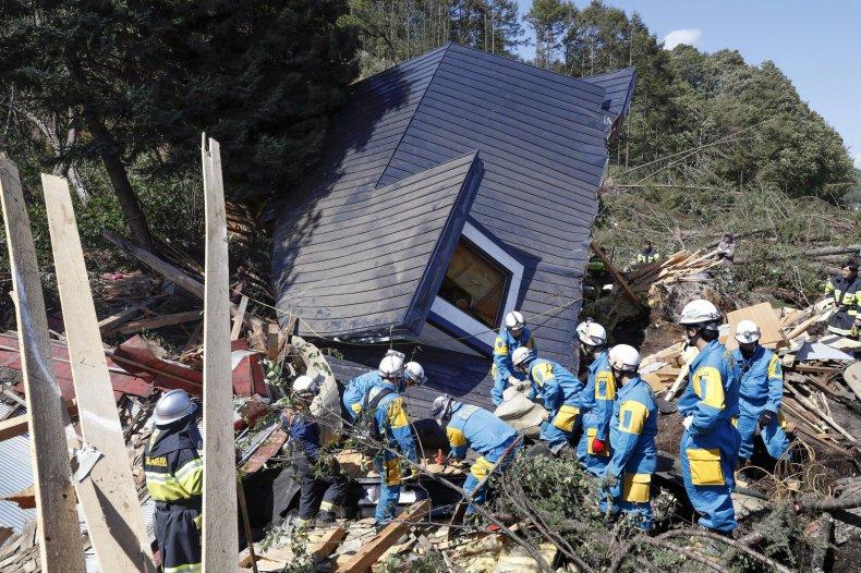 Japan Earthquake Rescue