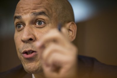 cory booker spartacus