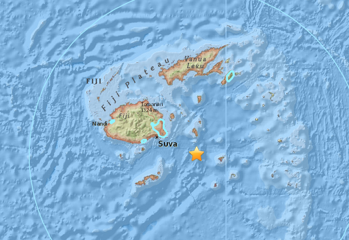 Fiji Earthquake Suva