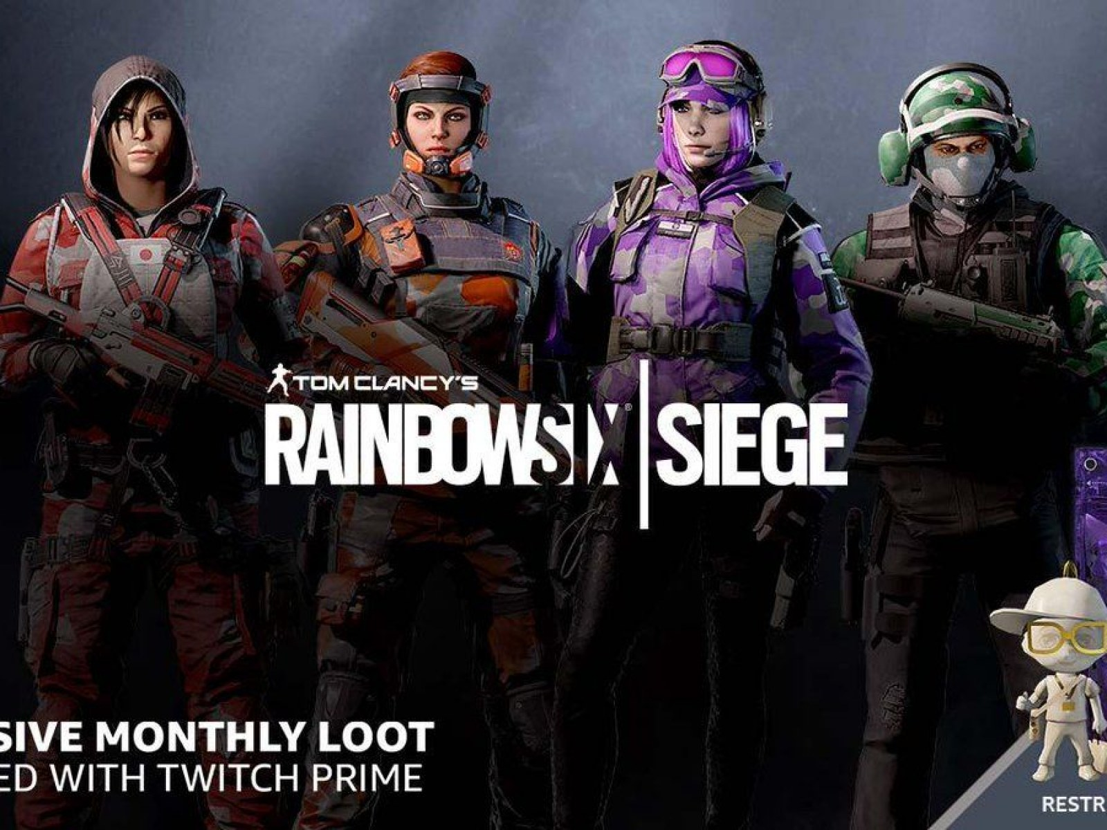 Rainbow Six Siege Twitch Prime Packs How To Get Free Loot