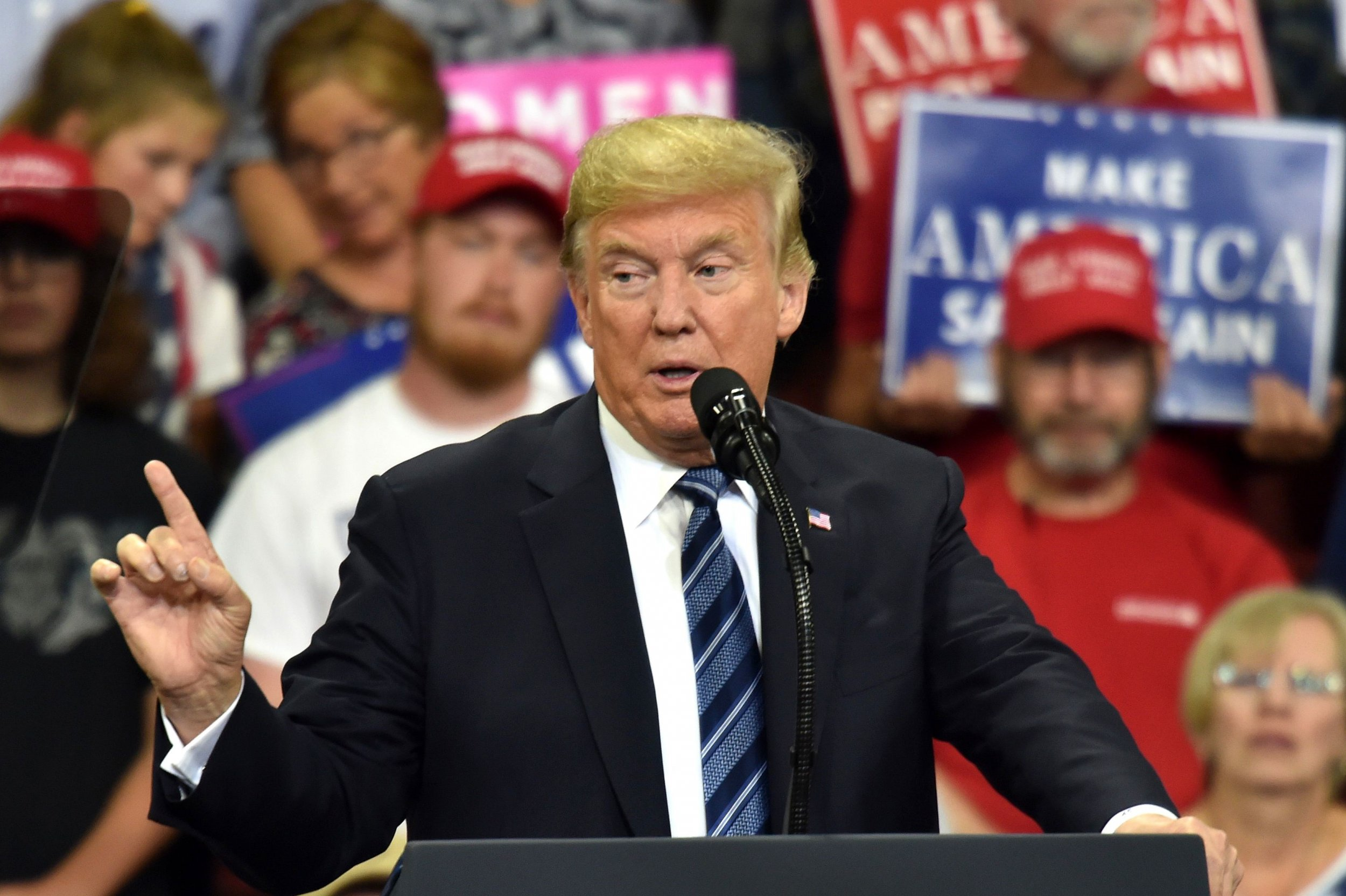 Donald Trump Montana rally