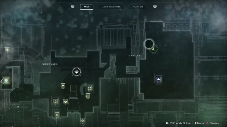 Destiny 2 Xur Location 9-7