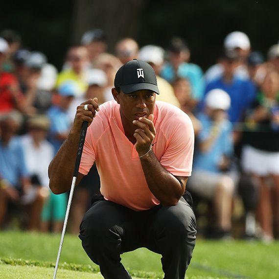 Tiger Woods BMW