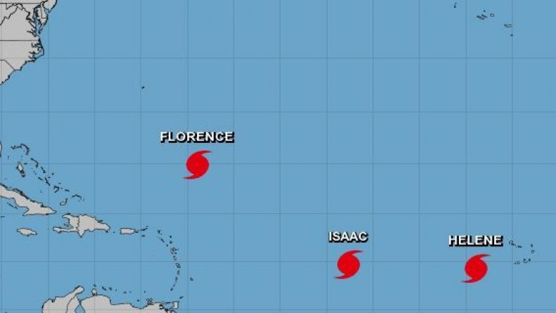 three hurricanes