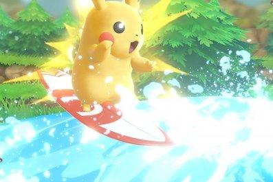 pokemon lets go pikachu surf