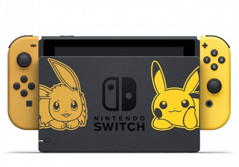 pokemon lets go pikachu eevee nintendo switch Bundle Hardware 1