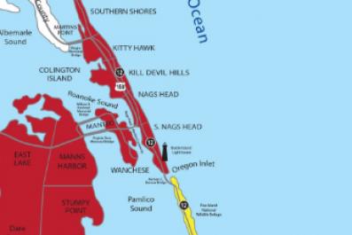 North Carolina Evacuation ORders