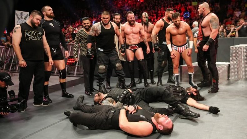 wwe monday night raw The shield attacked