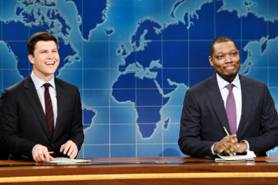 Colin Jost and Michael Che Return to 'SNL' as Co-Head Writers