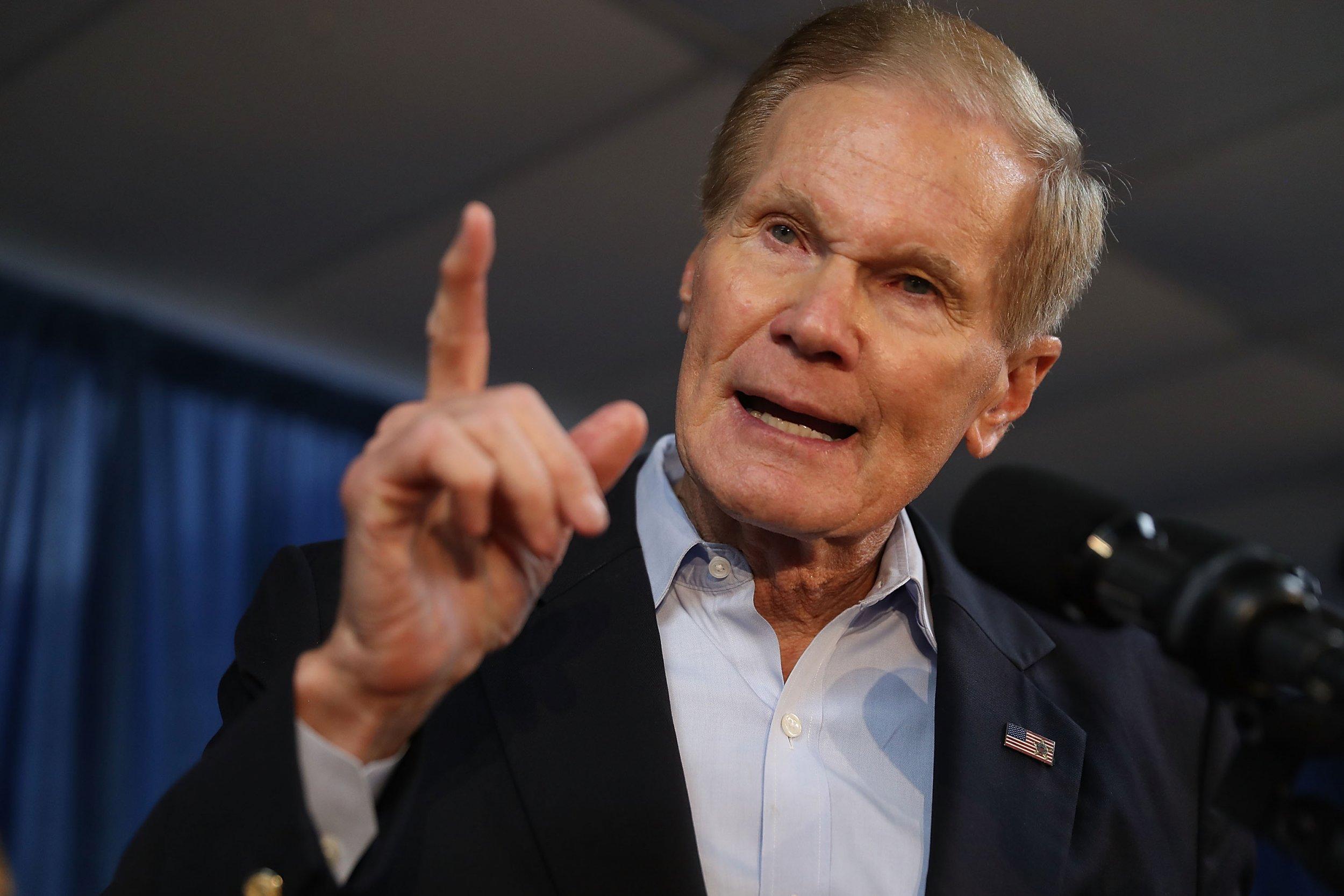 Florida Democratic Senator Bill Nelson Says Don't Abolish Ice, 'Abolish Trump'