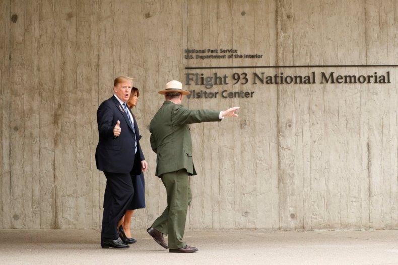 trump 9/11 memorial