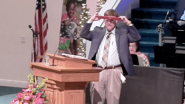 Alabama Preacher Cuts Up Nike