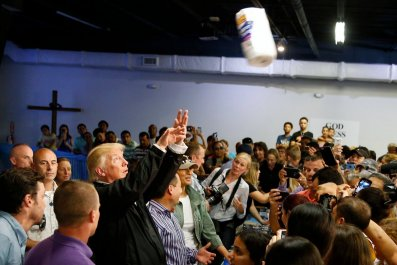 Donald Trump Says Government Response to Hurricane Maria in Puerto Rico was 'Unsung Success'