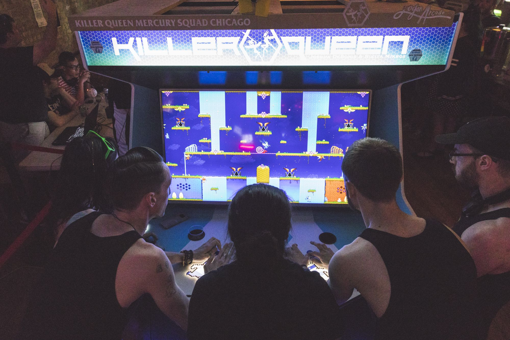 Red Bull Hive Hustle Brings Competitive 'Killer Queen