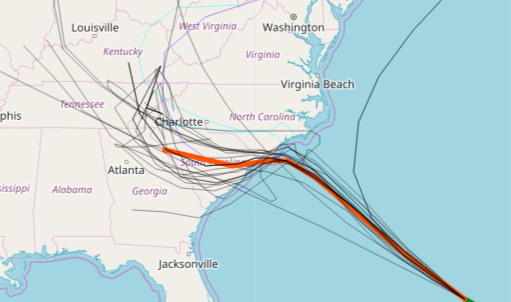 Florence Spaghetti Models Wednesday