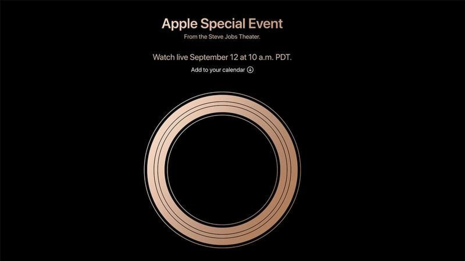 Apple Event 2018 Live Blog Everything Announced In Live Stream Including Iphone Xs Apple Watch 4 And More