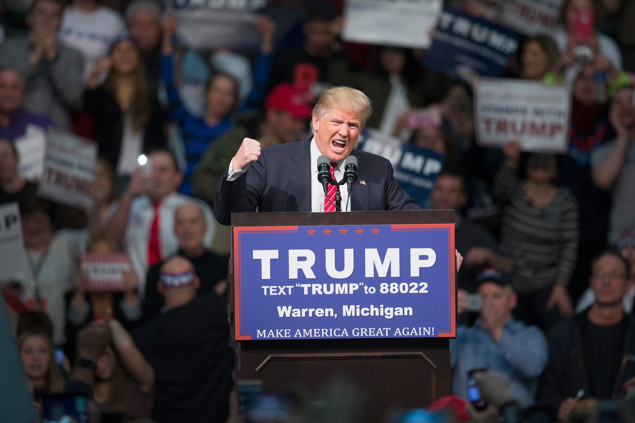 Donald Trump midwest, Republicans midterms