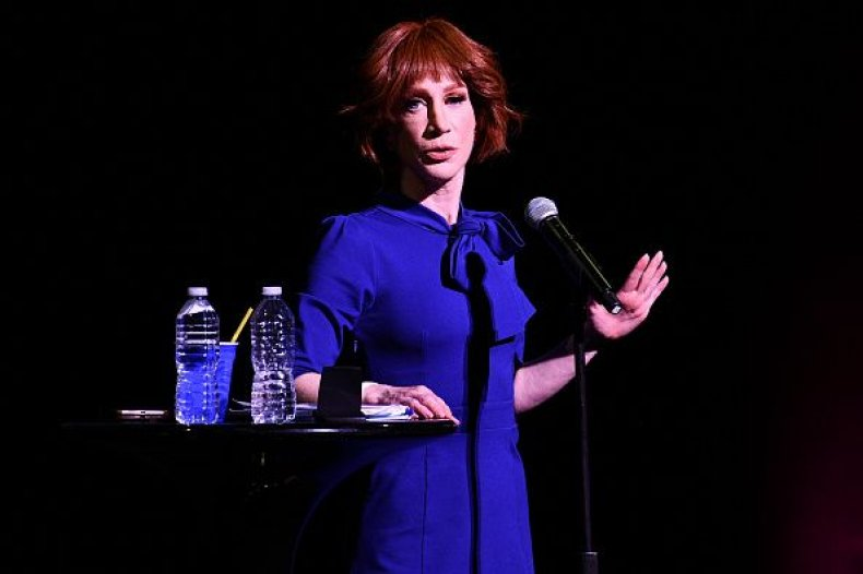 Kathy Griffin Tells 'Eddie Munster' Donald Trump Jr. He's a 'Traitor and a Criminal' After He Questions Her Comedic Skills