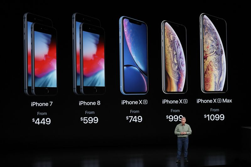 UPDATE 2:40p.m. - New iPhone Prices and Release Dates apple event 2018 specs iPhone xr, iPhone xs, iPhone xs make unveil