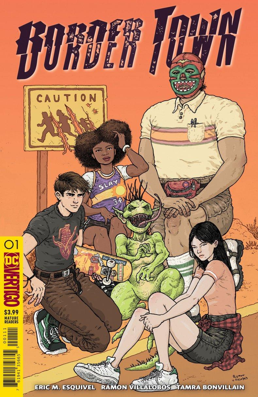 Border-Town-#1 Ramon Villalobos vertigo DC Comics eric esquivel