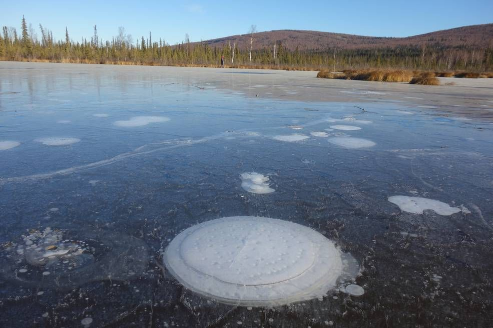 NASA has discovered Arctic lakes bubbling with methane—and that's very bad news