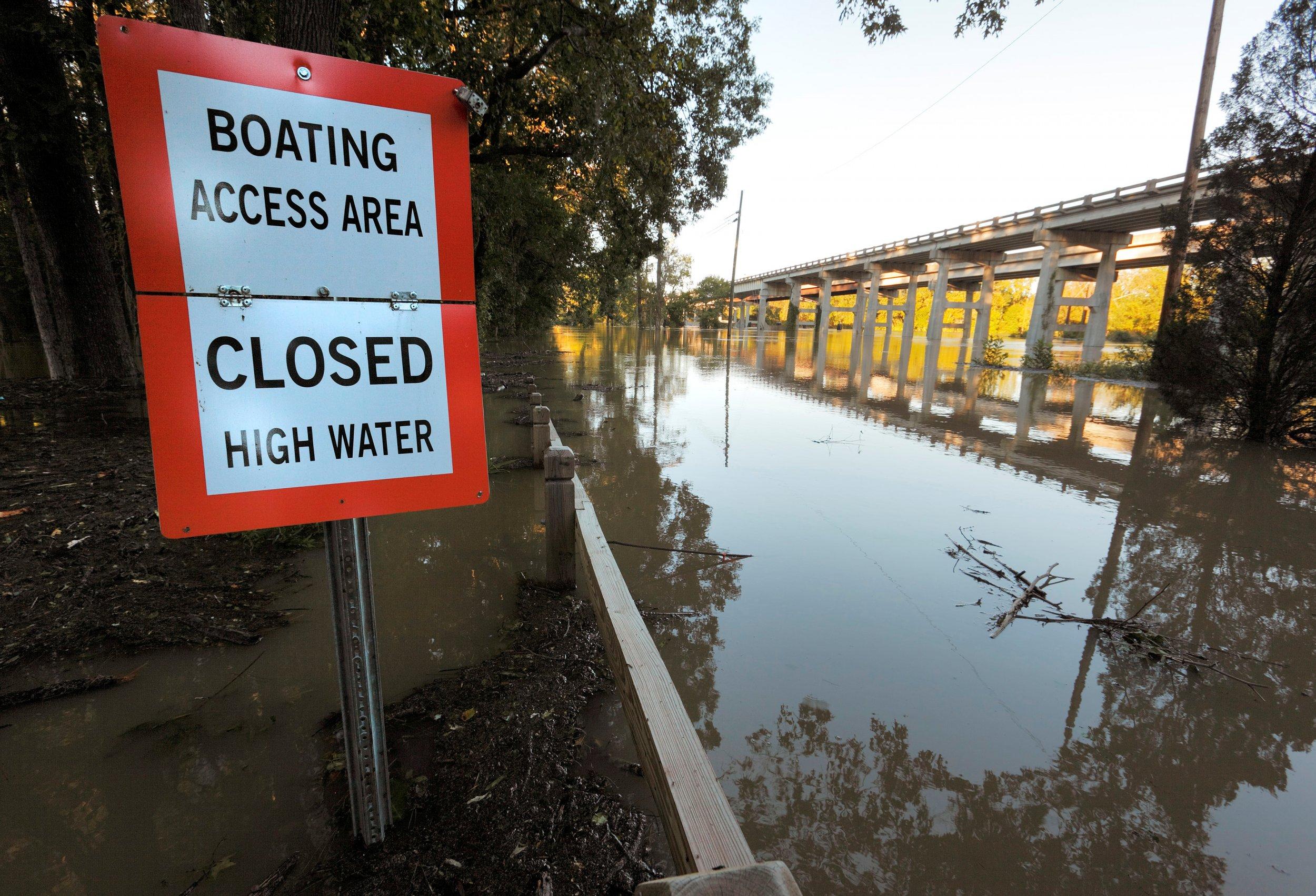 Cape Fear River flooding Hurricane FLorence