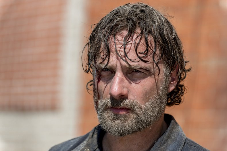 The Walking Dead Rick 8x12