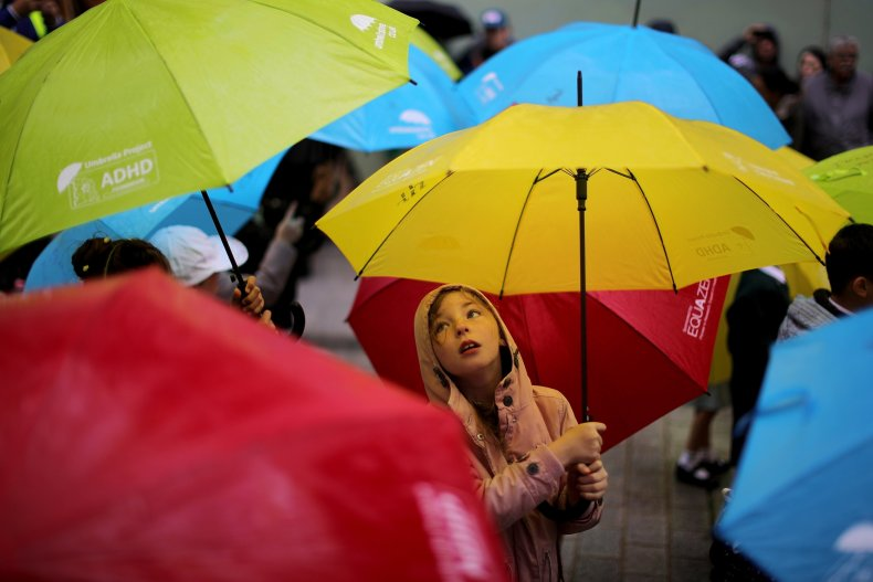 Umbrella Kid ADHD
